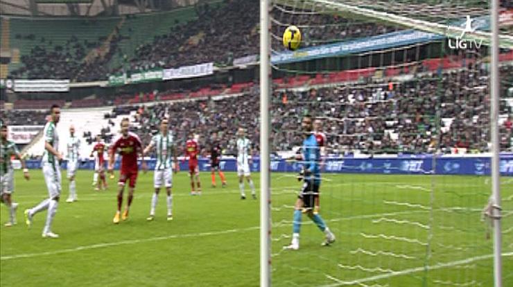 Torku Konyaspor Medicana Sivasspor golleri