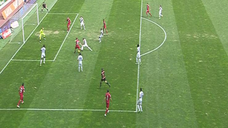 SAİ Kayseri Erciyesspor Gençlerbirliği golleri