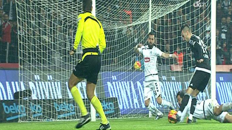 Beşiktaş Torku Konyaspor golleri
