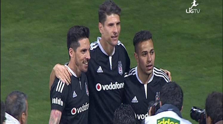 Kasımpaşa Beşiktaş golleri