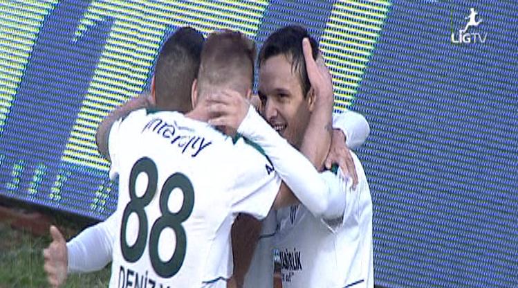 Osmanlıspor FK Bursaspor golleri
