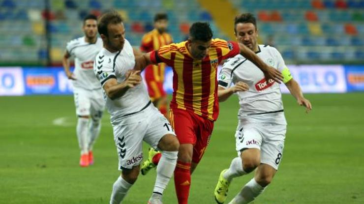 Kayserispor Torku Konyaspor maç özeti
