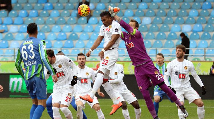 Çaykur Rizespor Eskişehirspor maç özeti