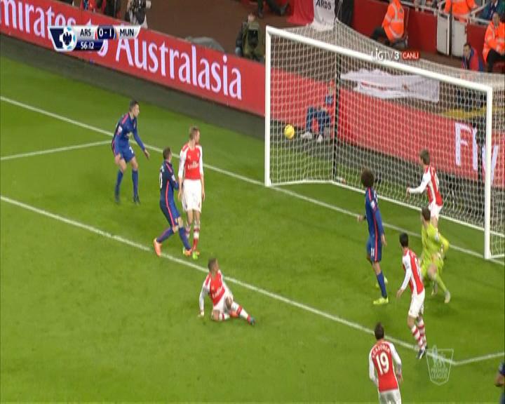 Arsenal Manchester United maç özeti