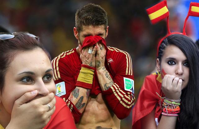 İspanya bugün yasta!