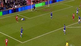 Anfield Road'da ilginç penaltı