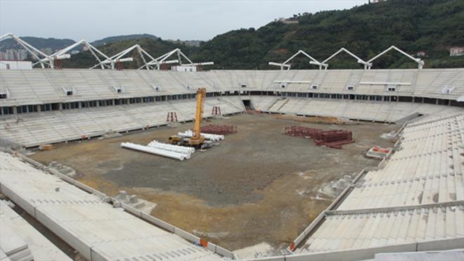 Trabzon'un yeni mabedi yükseliyor