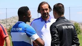 Antalyaspor idmanında dikkat çeken konuşma!