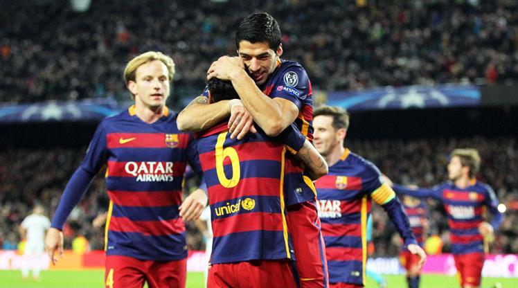 Barcelona, Roma'yı gole boğdu