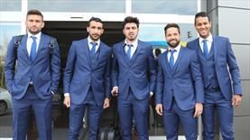 İşte Fenerbahçe'nin Molde kafilesi!
