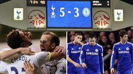 Tottenham-Chelsea rekabetindeki en unutulmaz 5-3'lük maç