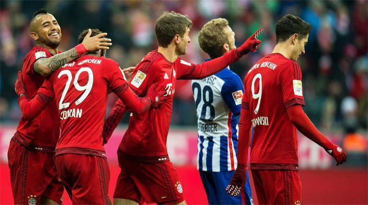 Bayern kendini yormadı!..