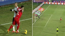 İşte Kartal'ın hayallerini yıkan penaltı: 2-2!