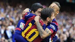 Suarez başladı, Messi bitirdi