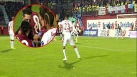 Trabzon'da tartışmalı an! Penaltı var mı, yok mu?