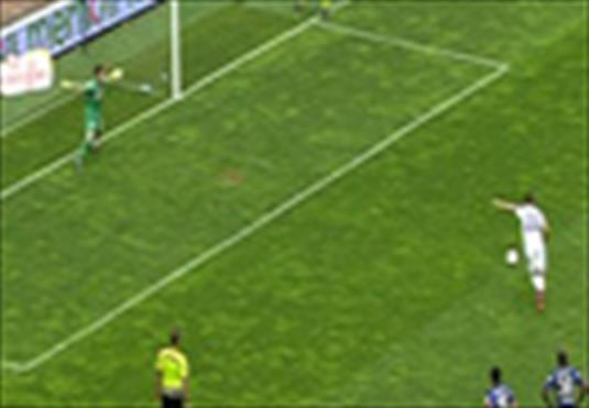 Karabük bu penaltı ile öne geçti