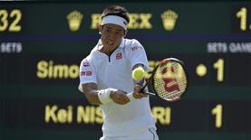 Nishikori Wimbledon'dan çekildi