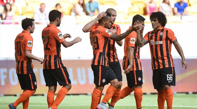 Shakhtar açılışı Alex ile yaptı!.. İki klas gol!.. (Özet)