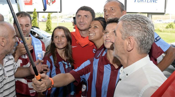 Trabzon'a coşkulu karşılama!..