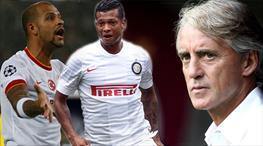 Mancini'den Melo ve Guarin yorumu (Lig TV Özel)