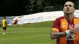Sneijder'den idmanda harika gol!