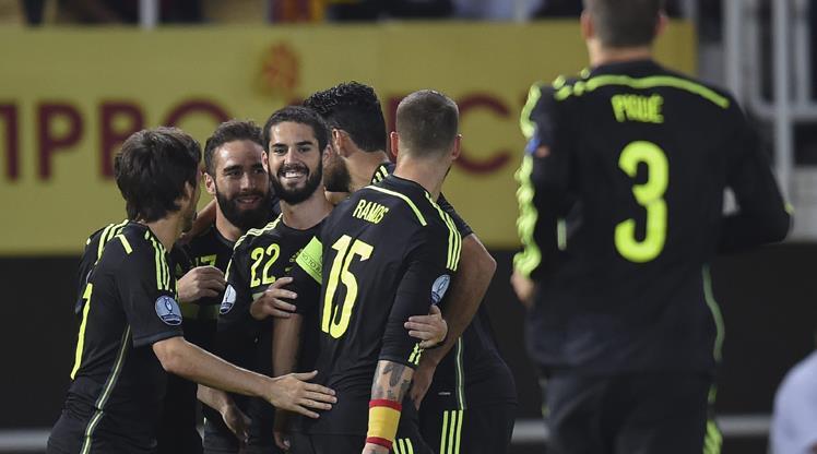 Makedonlar attı İspanyollar kazandı
