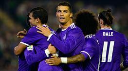 Real Madrid, Betis'e patladı: 1-6 (ÖZET)
