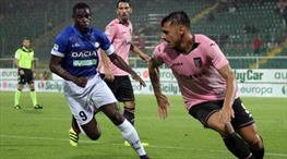 Palermo - Udinese: 1-3 (ÖZET)