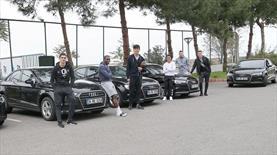 Trabzonspor'a 12 otomobil!