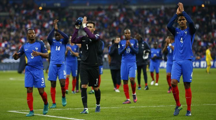 Fransa yıldızlarıyla kazandı!