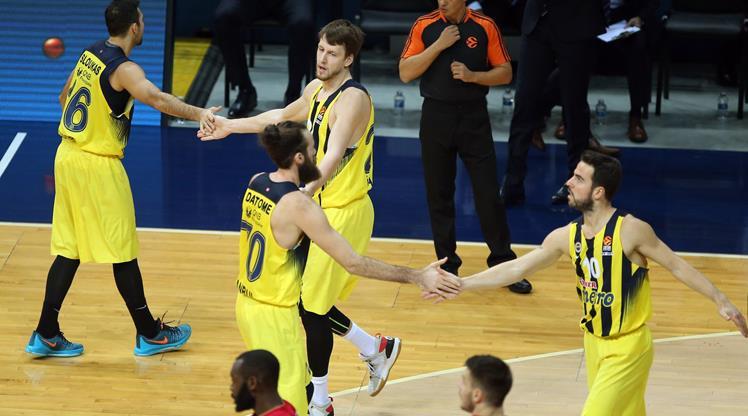 Fenerbahçe: 87 - Kızılyıldız: 72 (ÖZET)