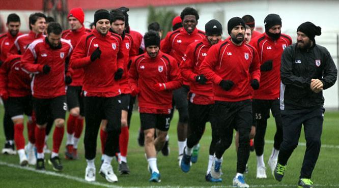 Samsunspor galibiyete koşullandı