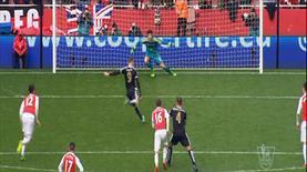 Leicester City, Vardy'nin golüyle Arsenal karşısında 1-0 öne geçirdi!