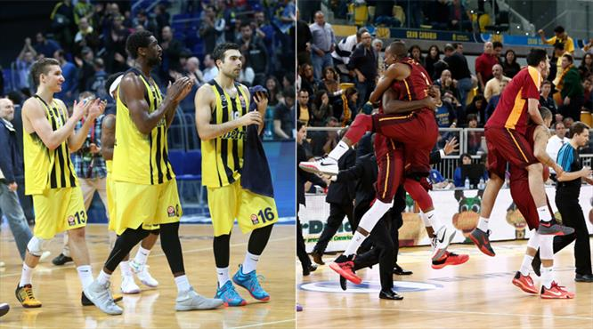 Fenerbahçe ve Galatasaray Odeabank Avrupa'da şampiyon olur mu?