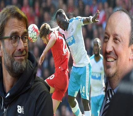 Önce Klopp güldü sonra Benitez! (ÖZET)