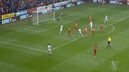 Tipik bir Premier Lig golü! Liverpool dağıldı