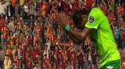 Galatasaray taraftarından Rodallega'ya jest... (ÖYKÜ)