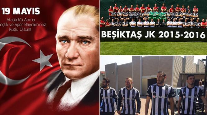 Beşiktaş'tan şampiyonluk posteri!