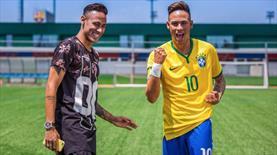 Neymar'ın kendi heykeliyle imtihanı!