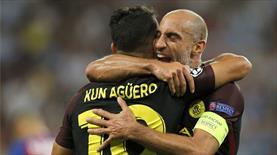 City, Steaua Bükreş'i dağıttı! Gecenin maçına Agüero damgası