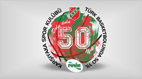 Pınar Karşıyaka 50 yaşında
