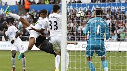 Costa yer çekimine meydan okudu! Harika bir gol!