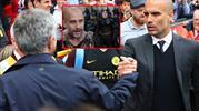 Mourinho ve Guardiola'yı hiç böyle görmediniz! (VAY BEE)