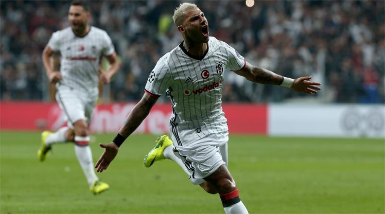 Şampiyonlar Ligi'nde haftanın oyuncusu Beşiktaşlı Quaresma!