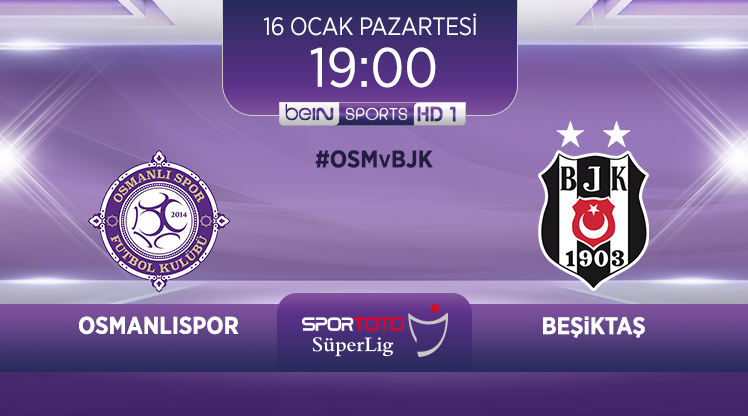 Osmanlıspor - Beşiktaş (CANLI)