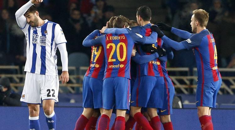 Barça 8 maçlık hasrete son verdi! (ÖZET)