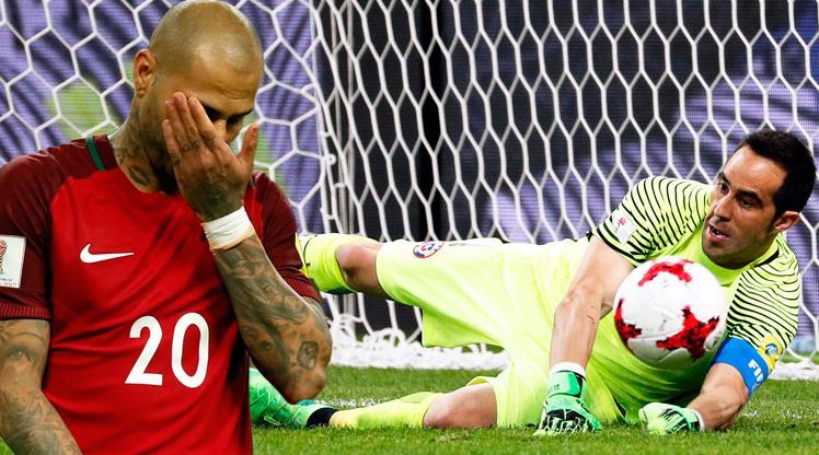 Portekiz penaltılarda yıkıldı! İlk finalist Şili