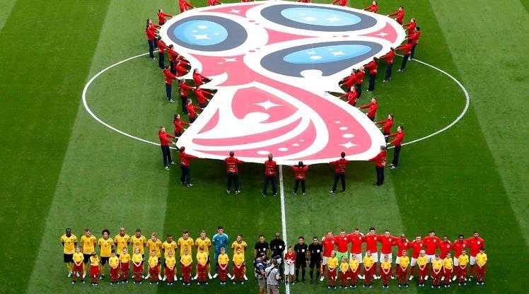 Belçika - İngiltere maçından renkli kareler